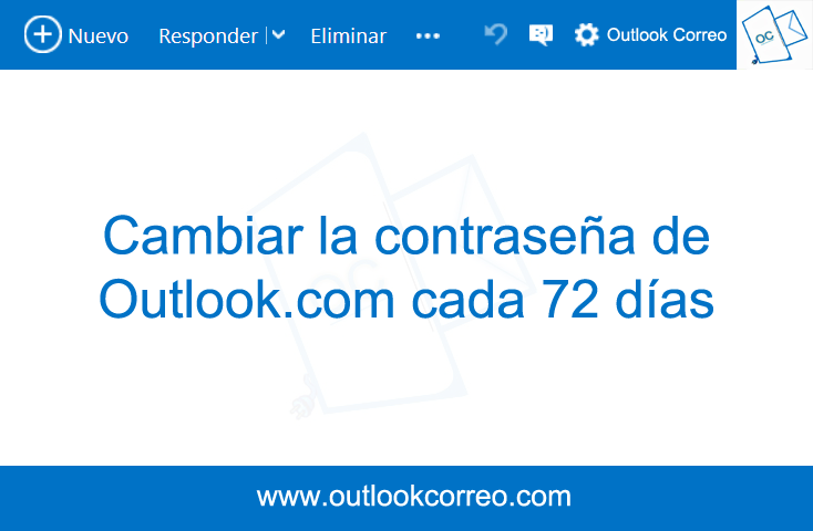 Cambiar la contraseña de Outlook