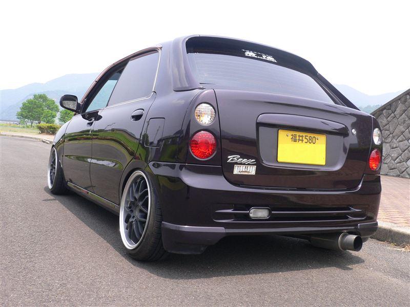 Daihatsu Opti, kei car, mały japoński samochód, JDM, tuning, mały silnik, druga generacja
