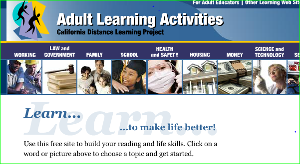adult literacy learn online