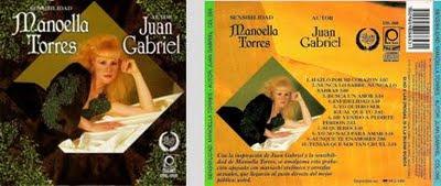 1996-Sencibilidad Manoella Torres...Autor Juan Gabriel CD