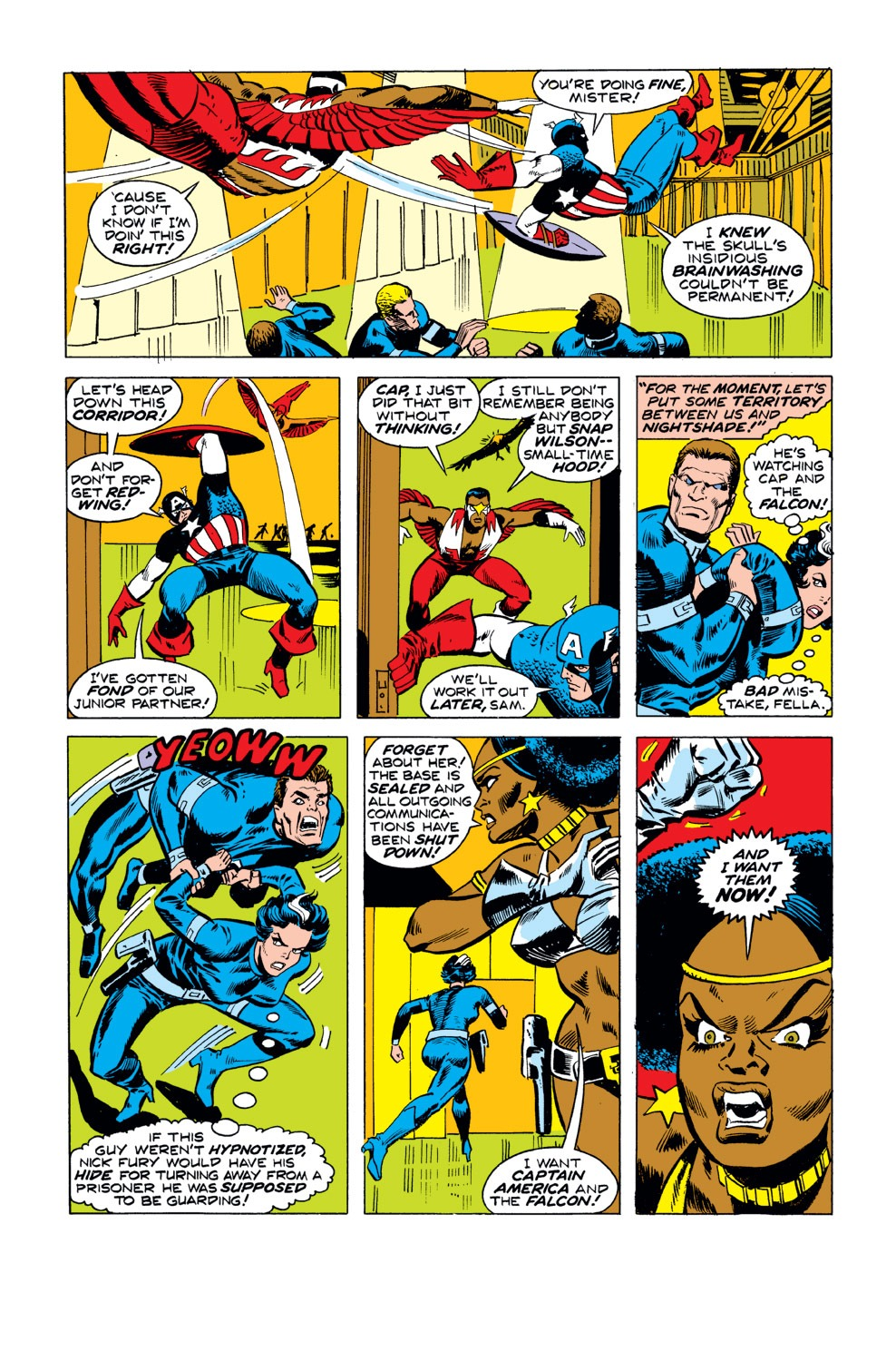 Captain America (1968) Issue #190 #104 - English 9