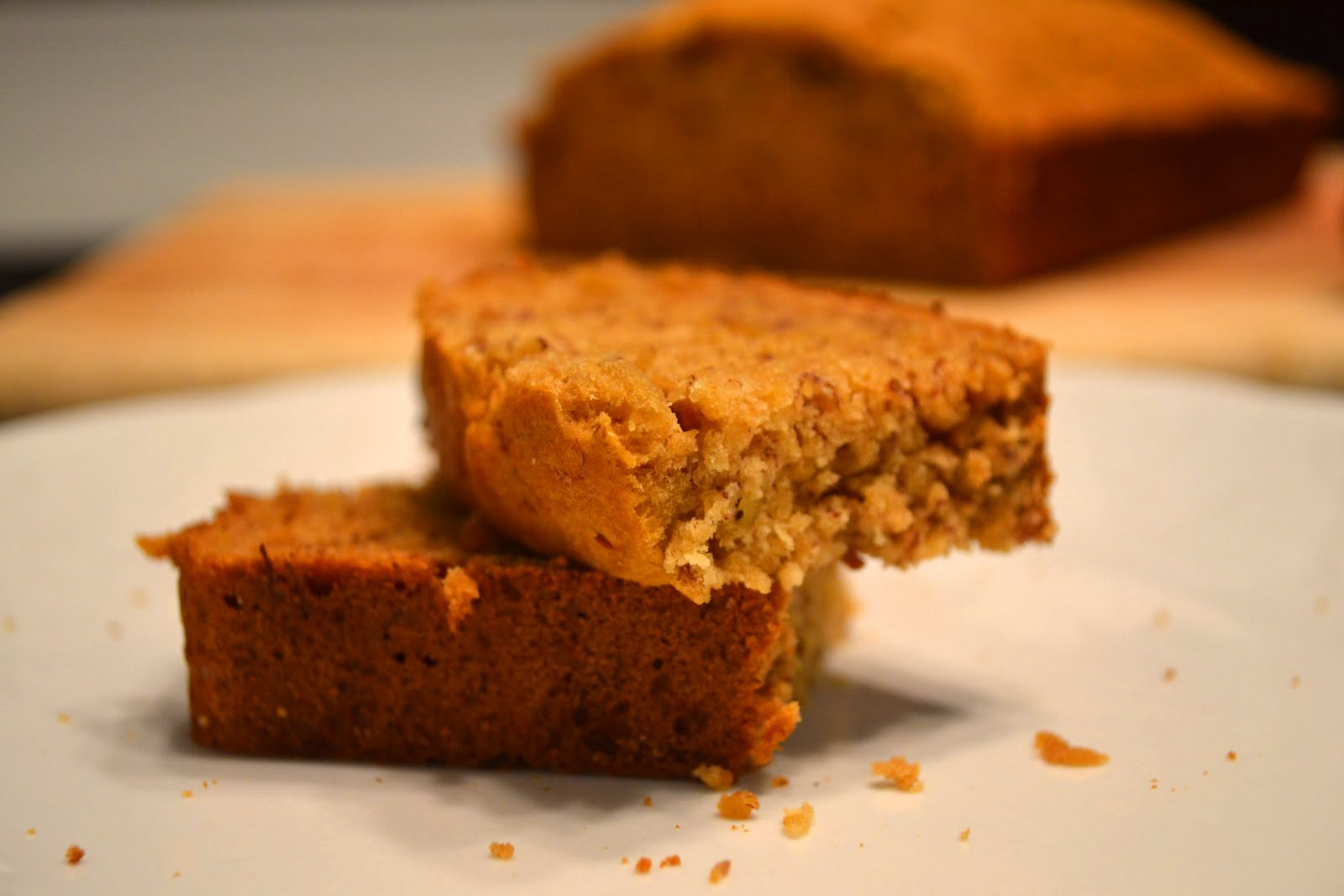 Caramel-Whiskey Banana Bread