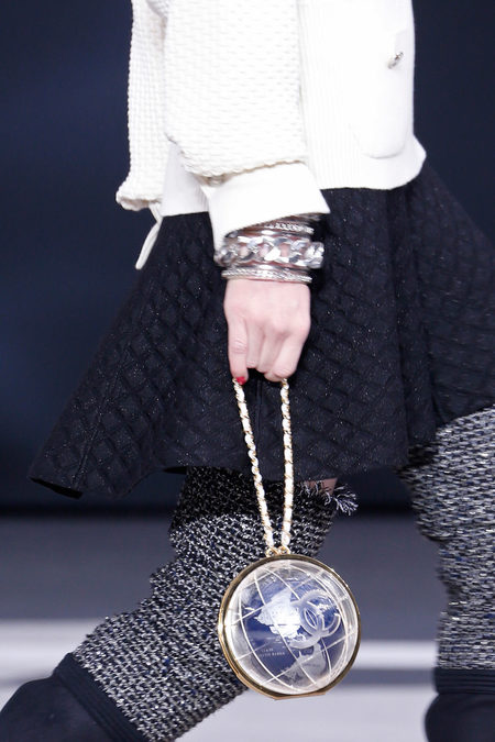 Chanel Fall 2013 world purse