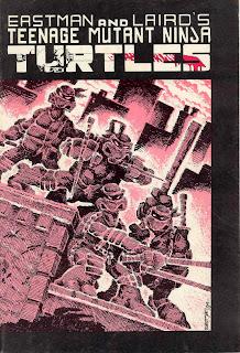 Teenage Mutant Ninja Turtles #1 Comic Cover