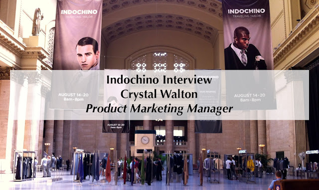 Interview Crystal Walton Indochino