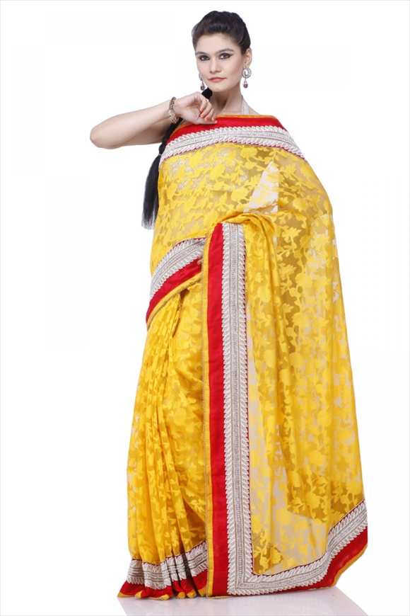 CHROME LEMON SAREE