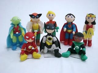topo de bolo super heróis