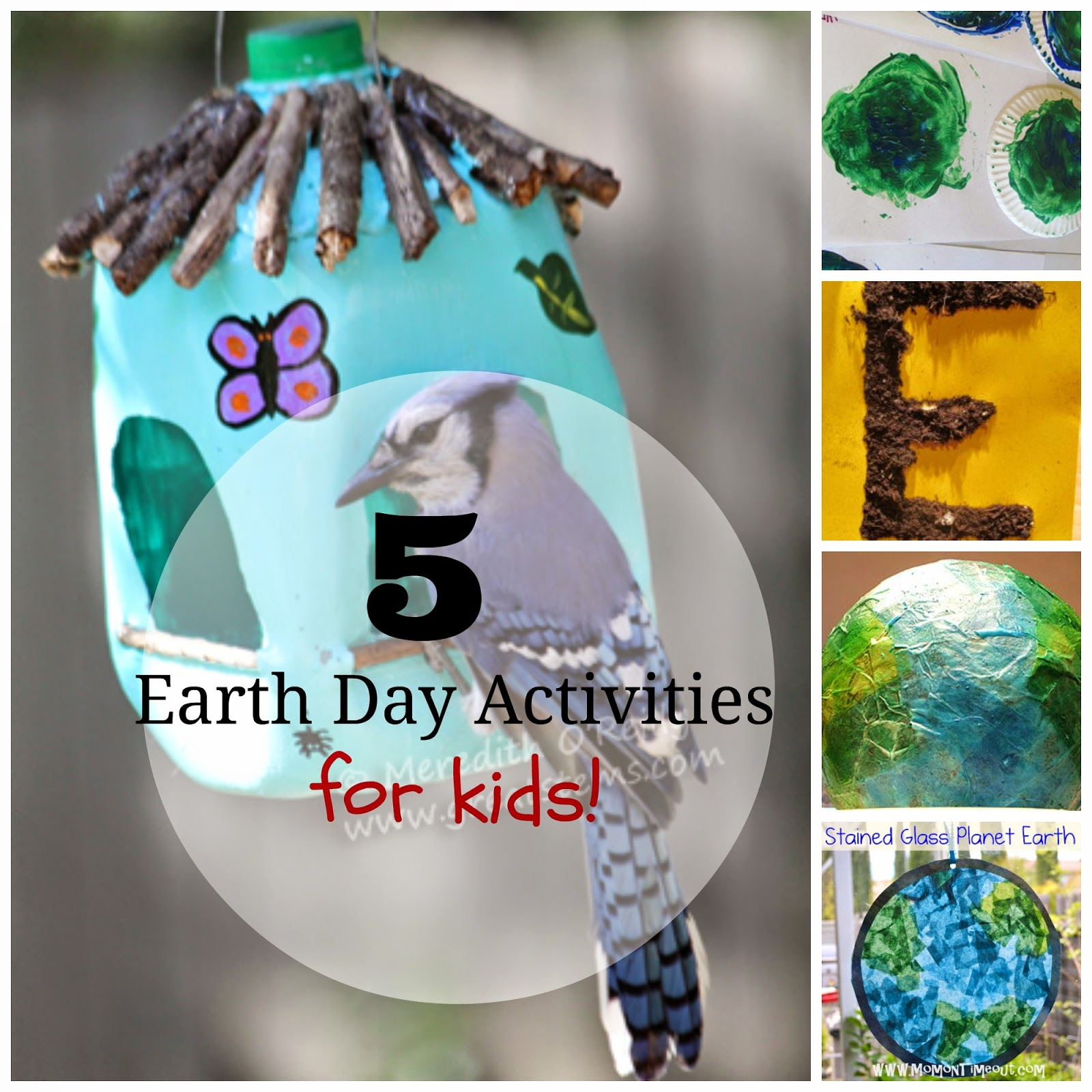 5 Earth Day activities for kids!