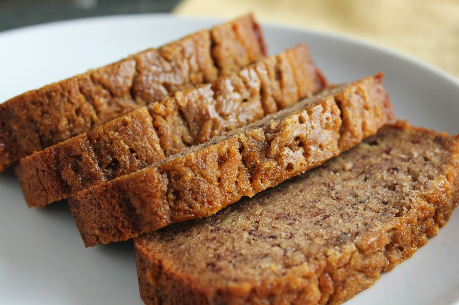 Delicious as it Looks: Lower-Fructose Banana Bread