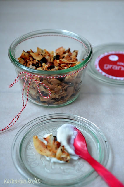 Coconut Granola auf www.katharinakocht.com