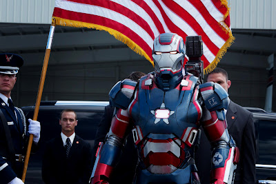 Iron Man 3 New Costume American Flag HD Wallpaper