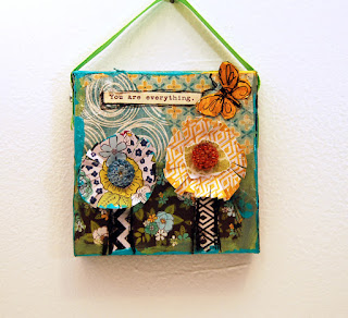 mini floral art