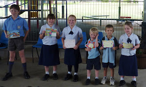 Award winners at recent Primary Assembly
