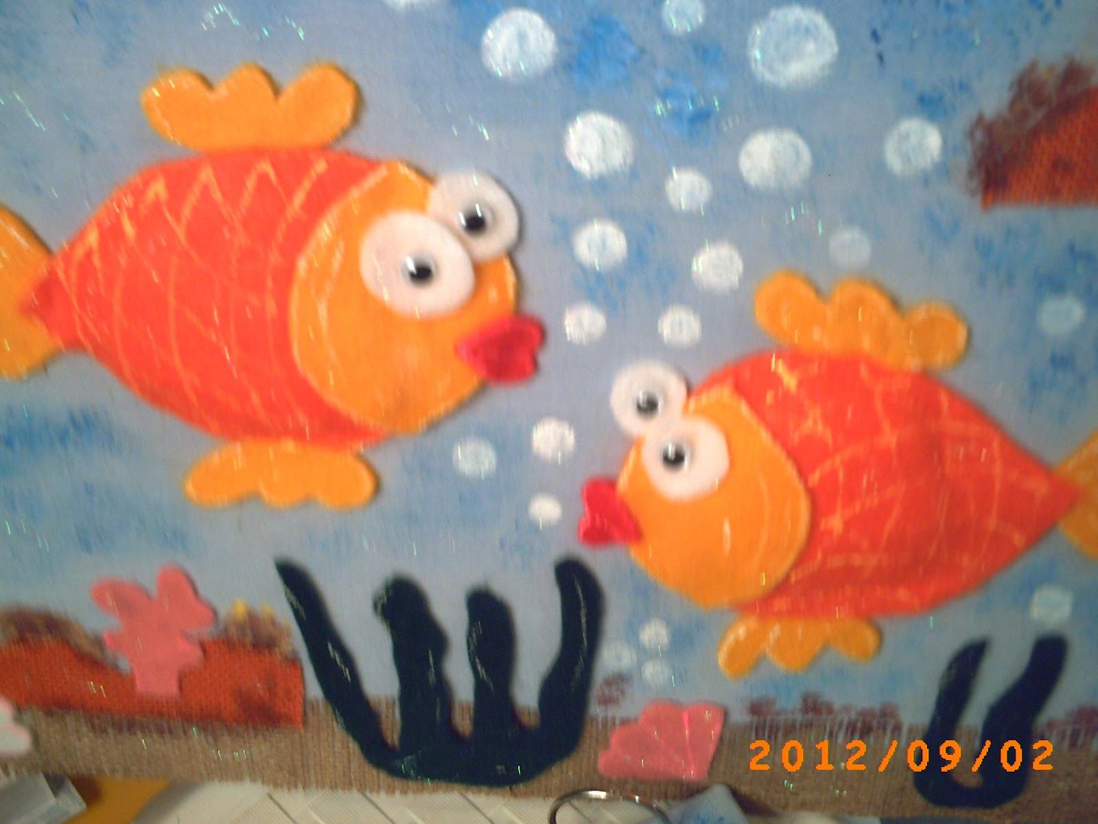 Manualidades variadas decorando con telas - Telas con motivos infantiles ...