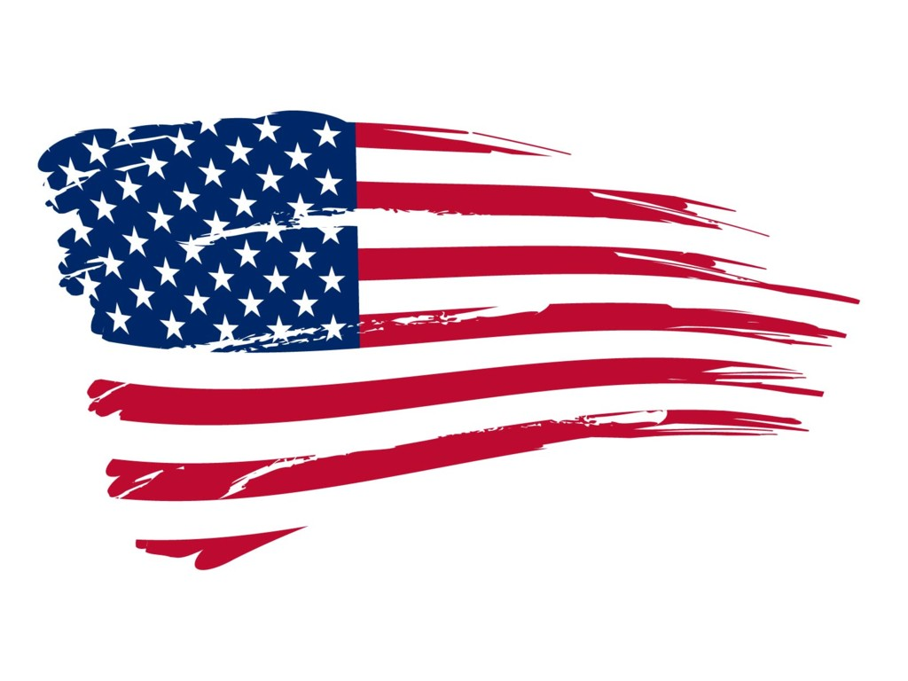 American Flag Wallpaper for walls