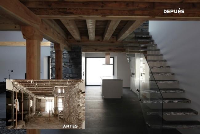 Marzua una vivienda en una antigua f brica de mantas en segovia - Reformas de casas antiguas ...