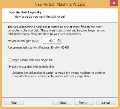 Split your disk