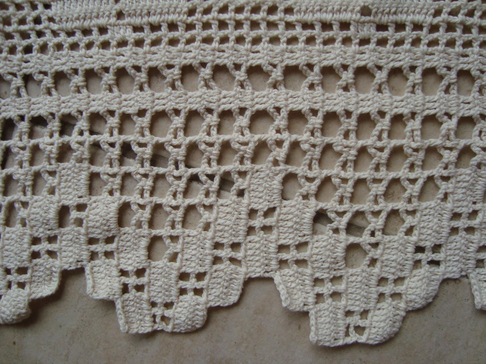 Art Hands: Cortina - Crochê