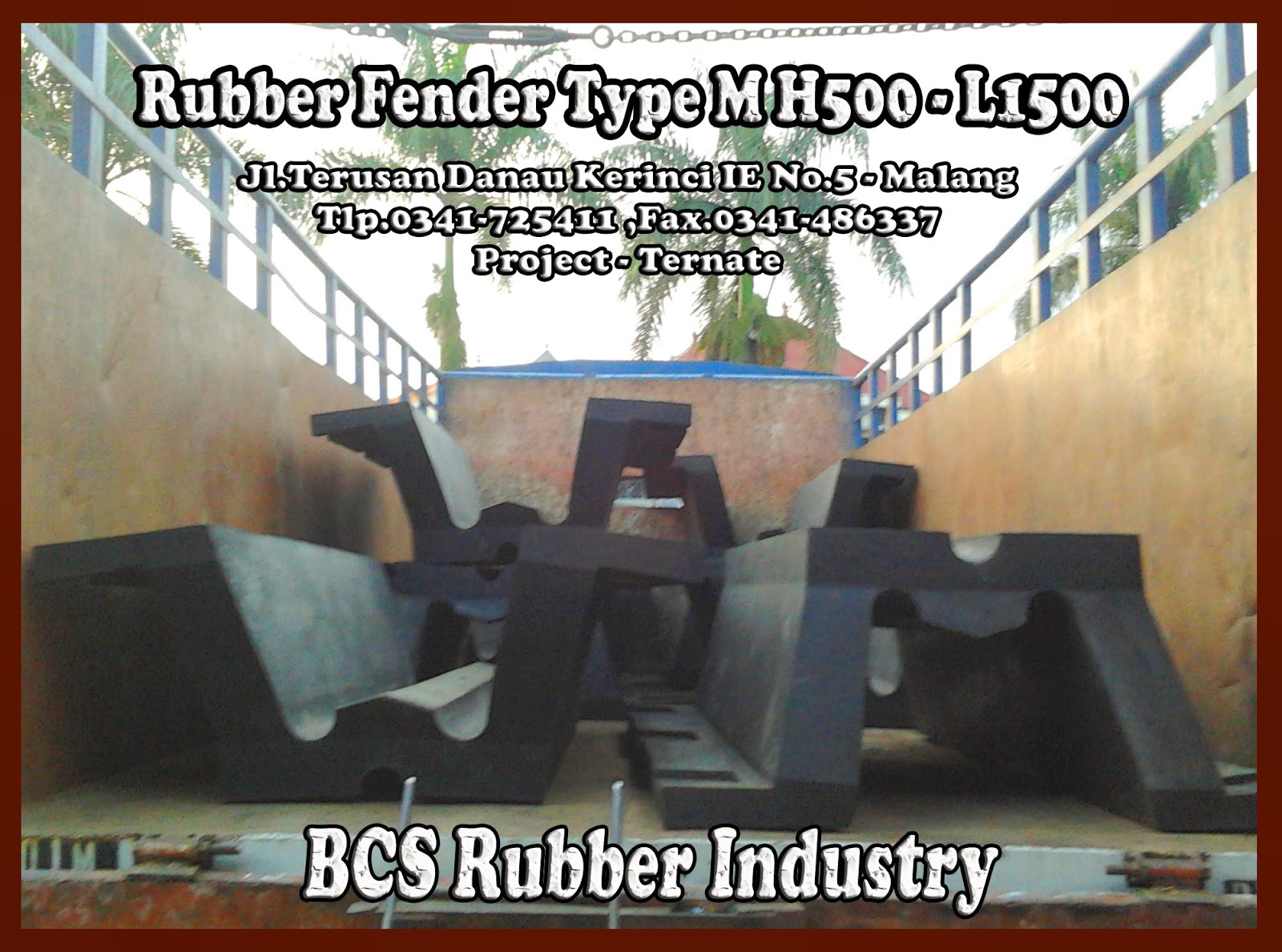 """RUBBER FENDER TYPE M""'"
