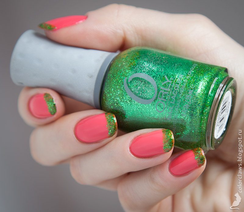 Orly Coquette Cutie + Here Comes Trouble