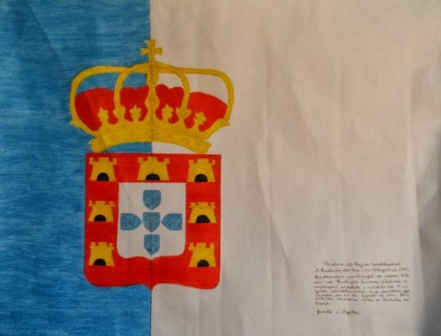 Bandeira do regime Constitucional