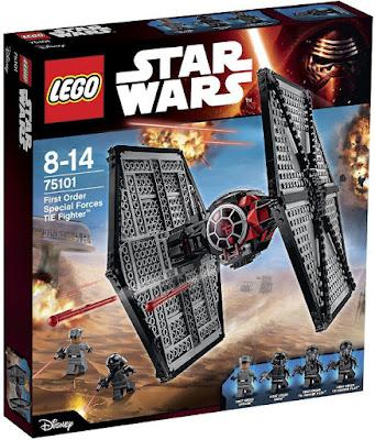 TOYS : JUGUETES - LEGO Star Wars VII  75101 First Order Special Forces TIE Fighter Star Wars Episodio VII El Despertar de la Fuerza - The Force Awakens Producto Oficial Película Disney 2015 | Piezas: | Edad: 9-14 años Comprar en Amazon España & buy Amazon USA
