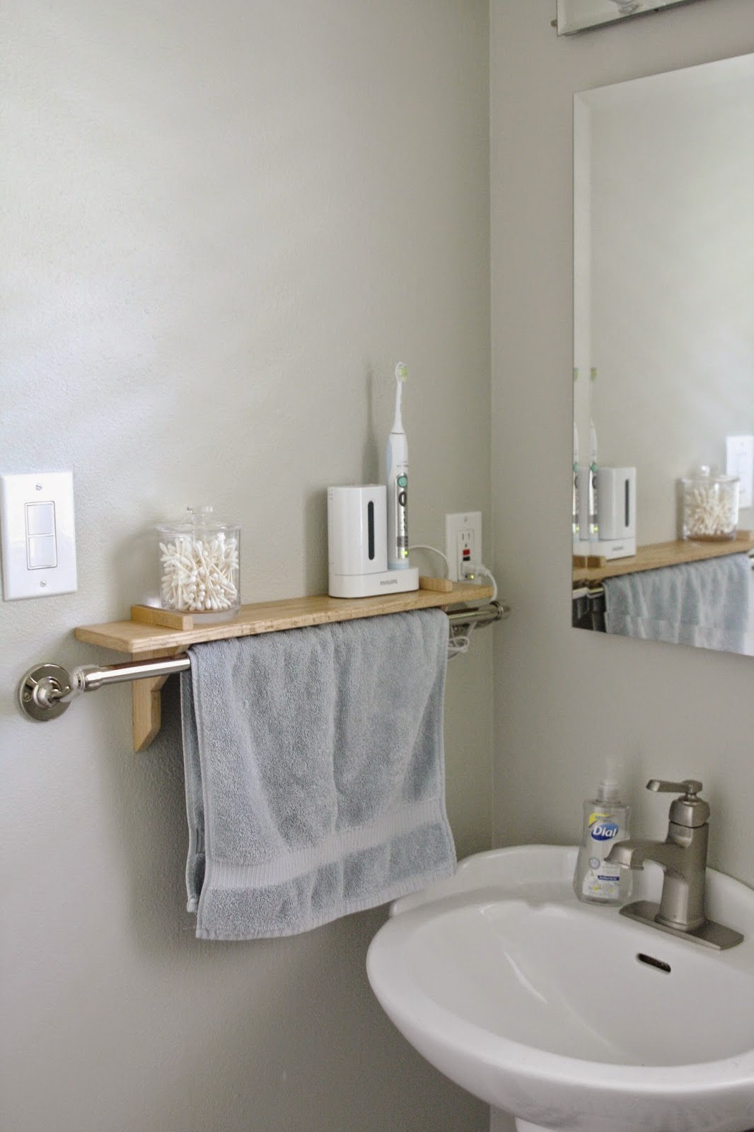 Simple The Towel Bar Shelf is intended for dry areas making it the perfect answer to this bathroom issue u