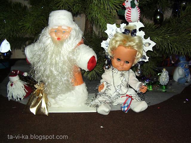 одежда для куклы Снегурочки