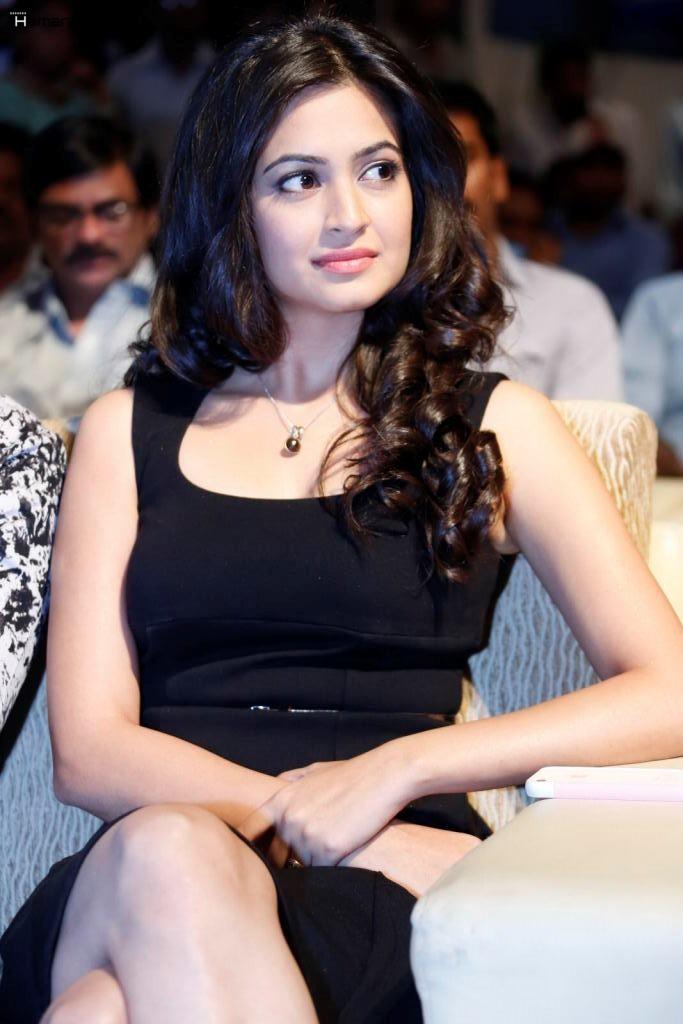 Kriti Kharbanda Hot Latest Photos In Black Dress