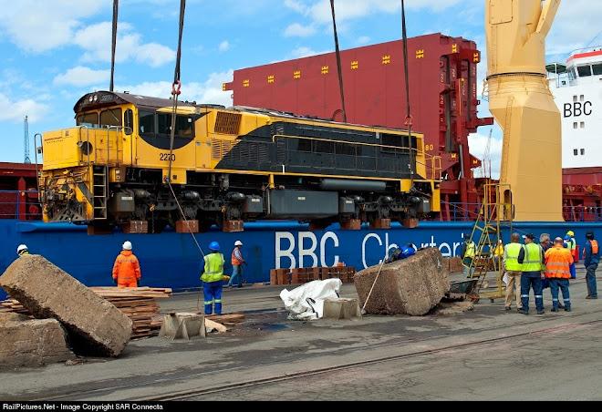 Ex Queensland Railway 2270