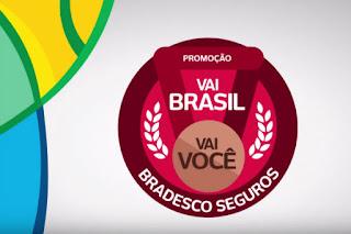 Participar da promoção Bradesco Seguros Vai Brasil