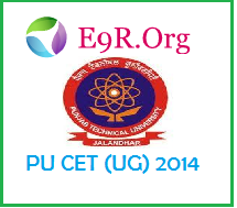 PU CET (UG) 2014 Online Application Form, Admit Card, Exam Date