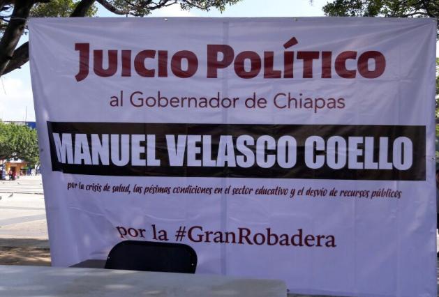 MORENA BUSCA LLEVAR A JUICIO A VELASCO; DESVÍOS MILLONARIOS Y 90 CASOS DE CORRUPCIÓN