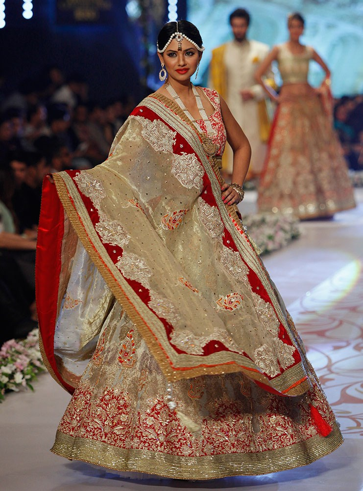 New Pakistani Bridal Dress 2016
