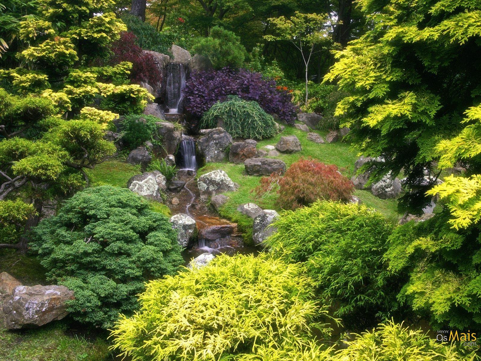 Japanese Tea Garden Backyard : Imagens Lindas Wallpapers Natureza Cachoeiras