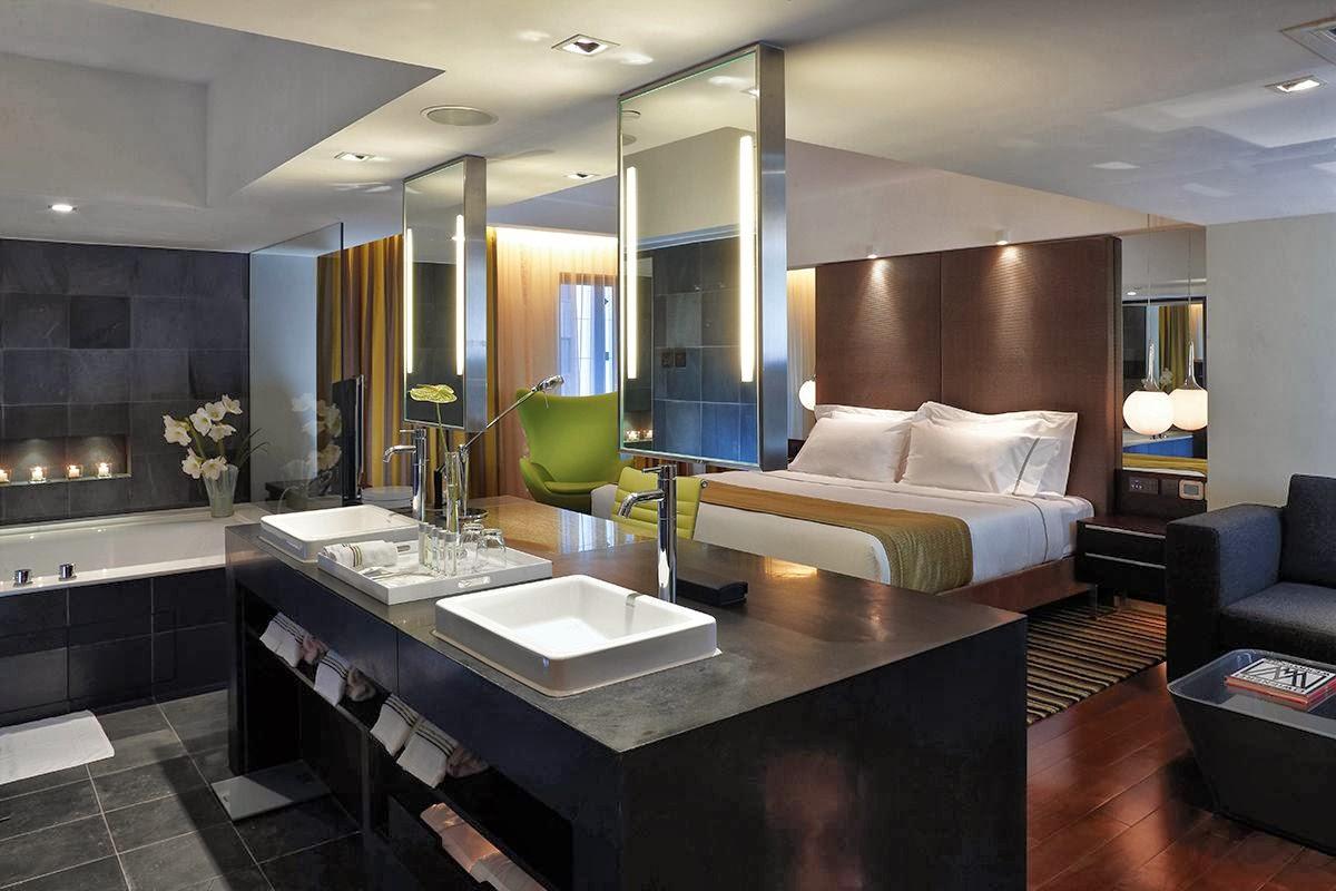 Baño En Dormitorio Principal:Tekton Concept – Design: Baños integrados en el dormitorio principal
