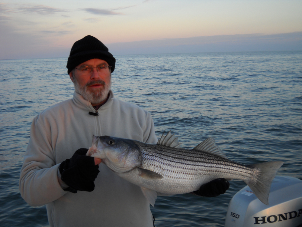 The angry fisherman april 2011 for Striper fishing chesapeake bay