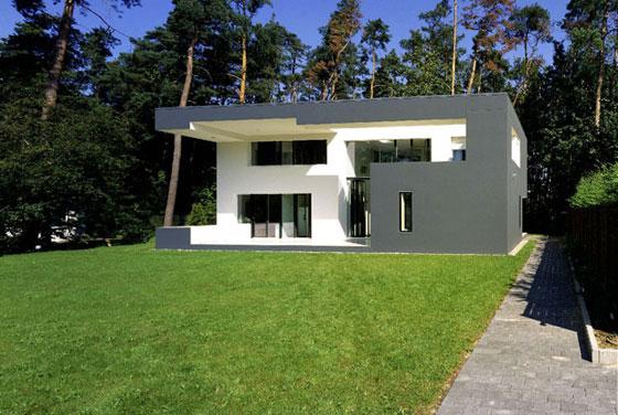 zwart wit huis world architecture. Black Bedroom Furniture Sets. Home Design Ideas