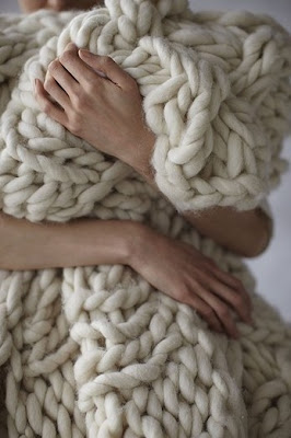 blanket throw knit