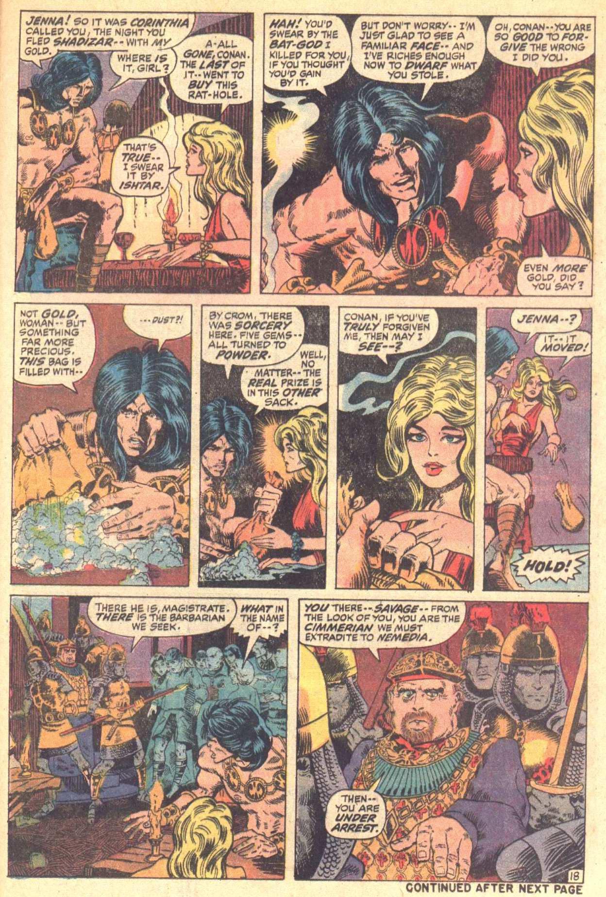 Conan the Barbarian (1970) Issue #8 #20 - English 19