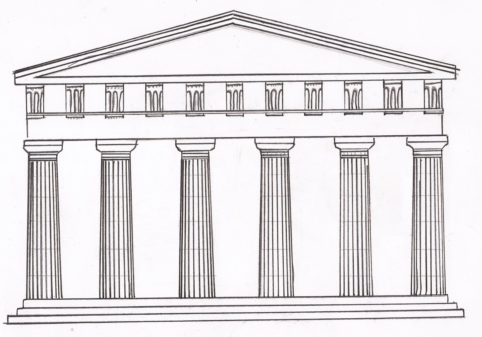 Resumen de arquitectura arquitectura griega for Arquitectura de grecia