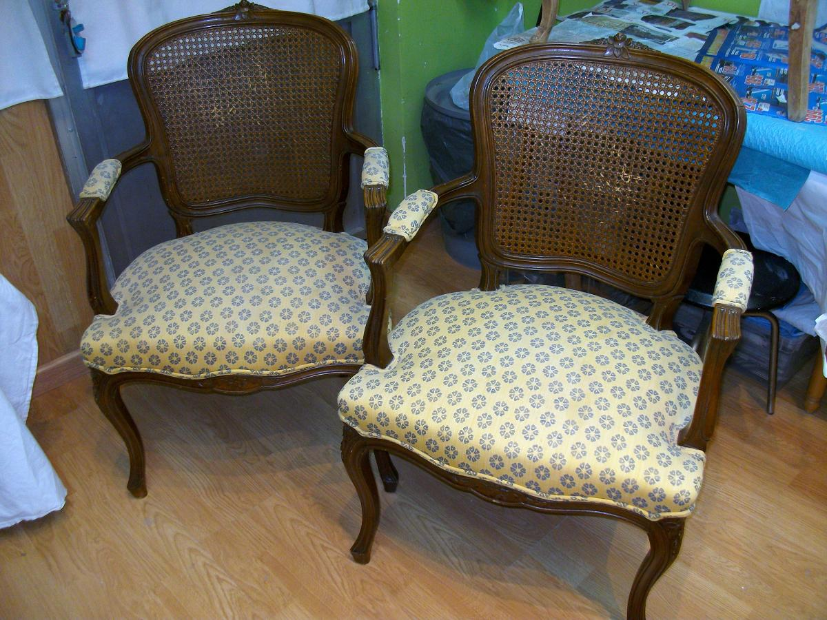 El blog de la restauradora restauraci n reconversi n - Sillones de estilo ...