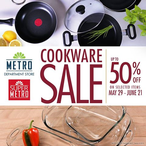 Stores' Cookware SALE . Enjoy up to 50% off on selected items in all ...