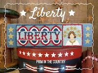 Liberty Punch Needle Pattern $5.00