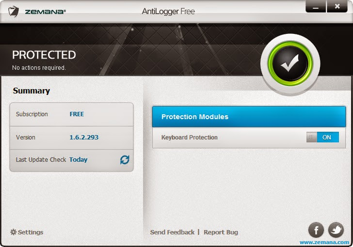 Zemana AntiLogger Pro 1.8.2.113 full Serial Key find4something2