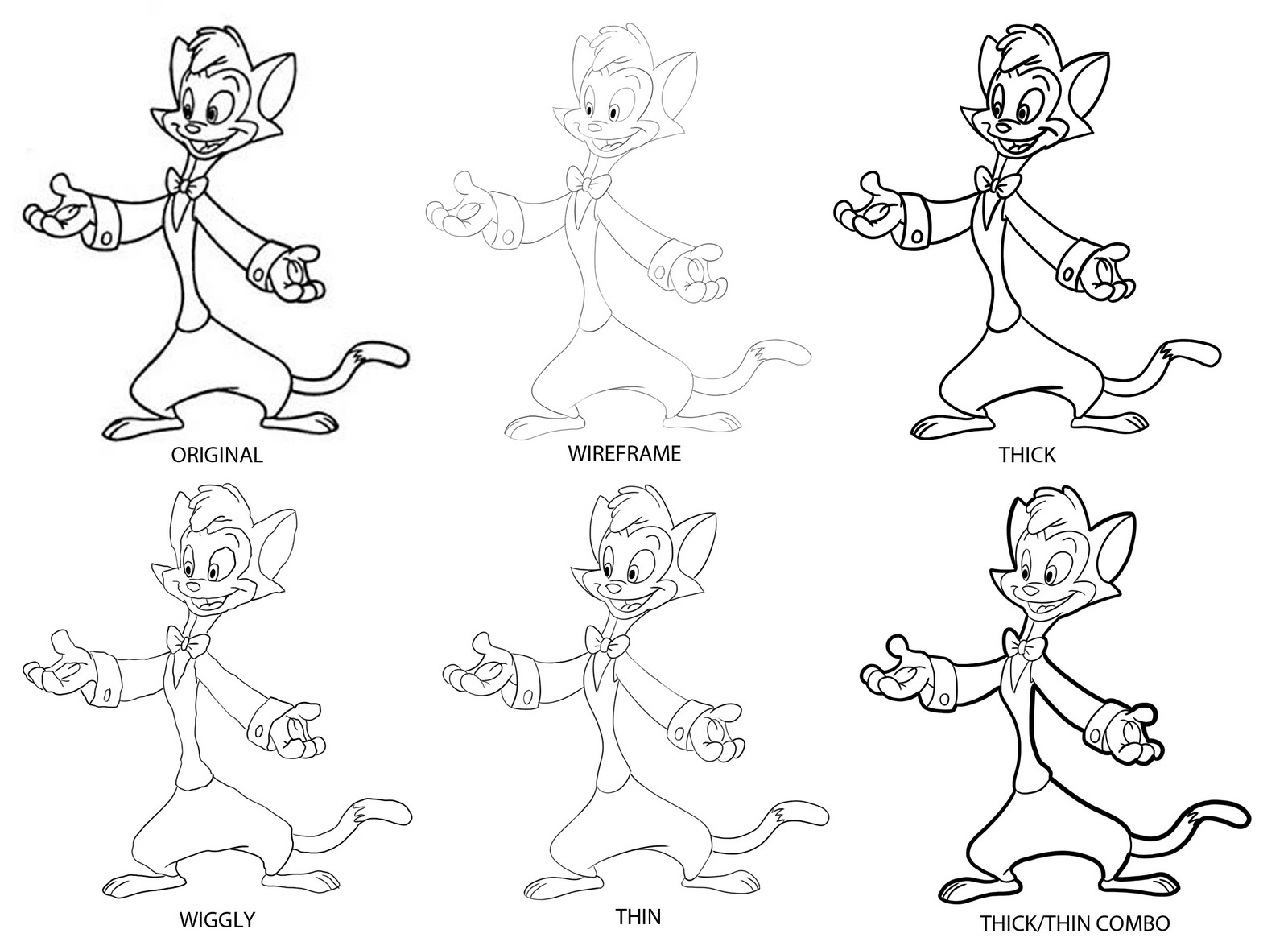 Line Quality Drawing : Crowley creations line quality exercise cats don t dance