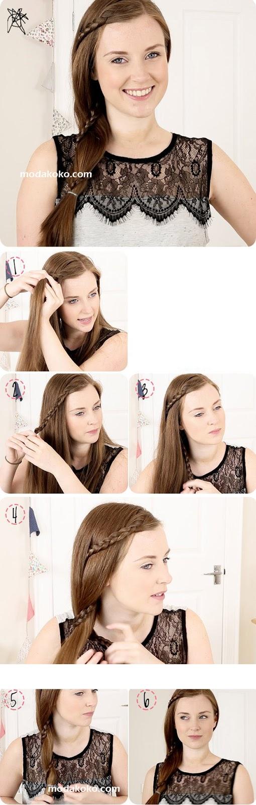 2015 Okul Saç Modelleri ve Yapılışları