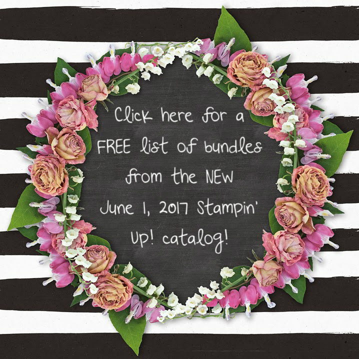 NEW Stampin' Up! Bundles Save 10%