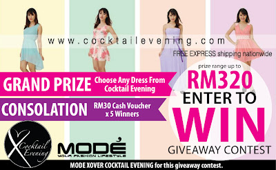 Mode Malaysia X-over Cocktail Evening Giveaway Contest