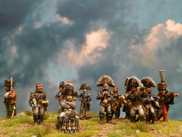 Napoléon et son Etat- Major - Figurines Wargames Foundry 2